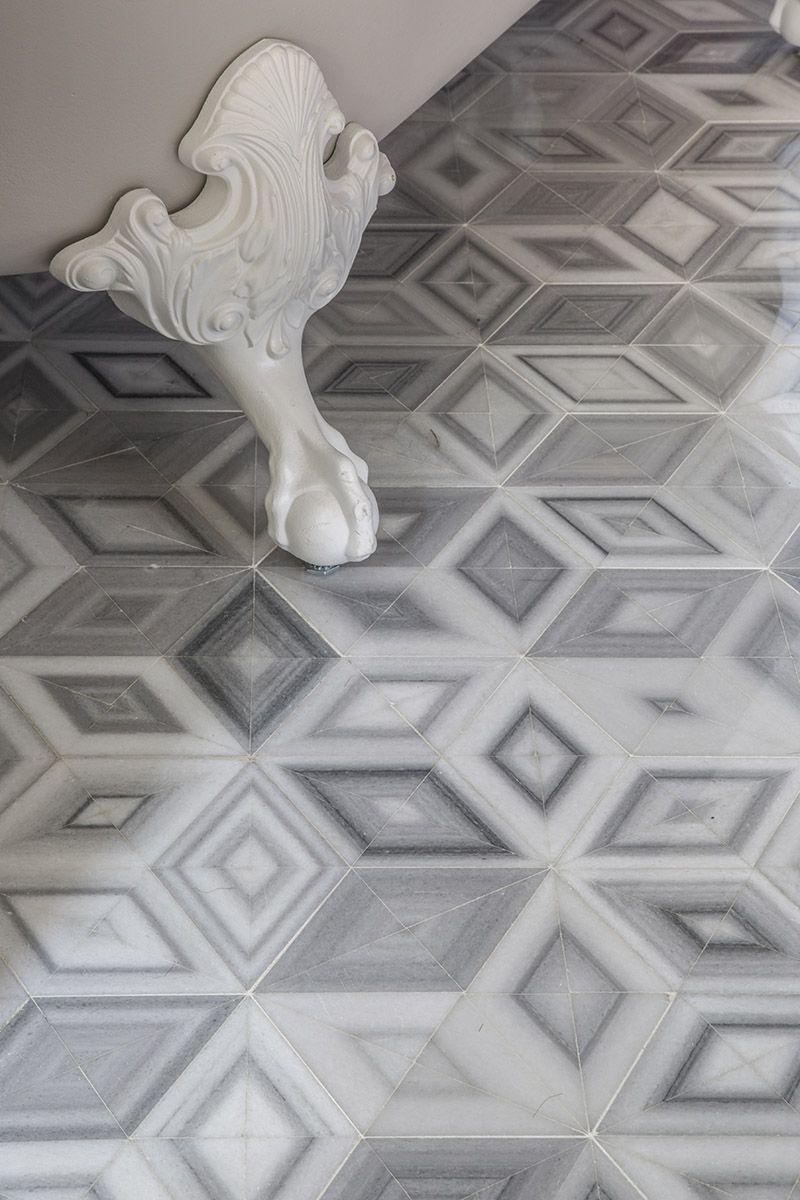 akdo mosaic origami kips bay decorator show house 2015 - Mosaic Tile House 2015
