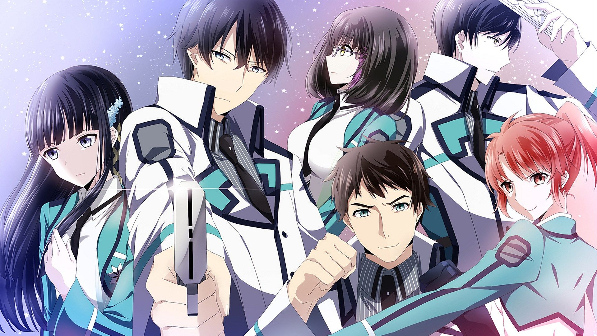 the irregular at magic high school anime visual