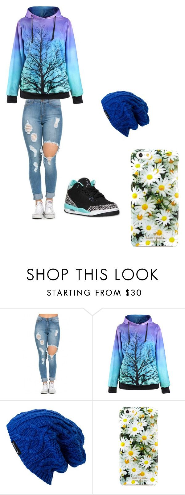 """Clothes for spanish 2"" by ilovemyhamstertobby on Polyvore featuring Spacecraft and Kate Spade"