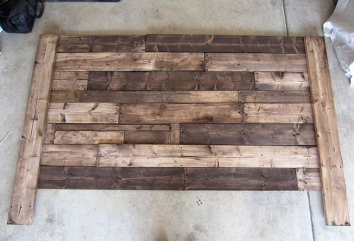 step by step project guide on how to build a king sized pallet headboard from scratch this style headboard can be made for any size bed - Diy Kingsizekopfteil Plne
