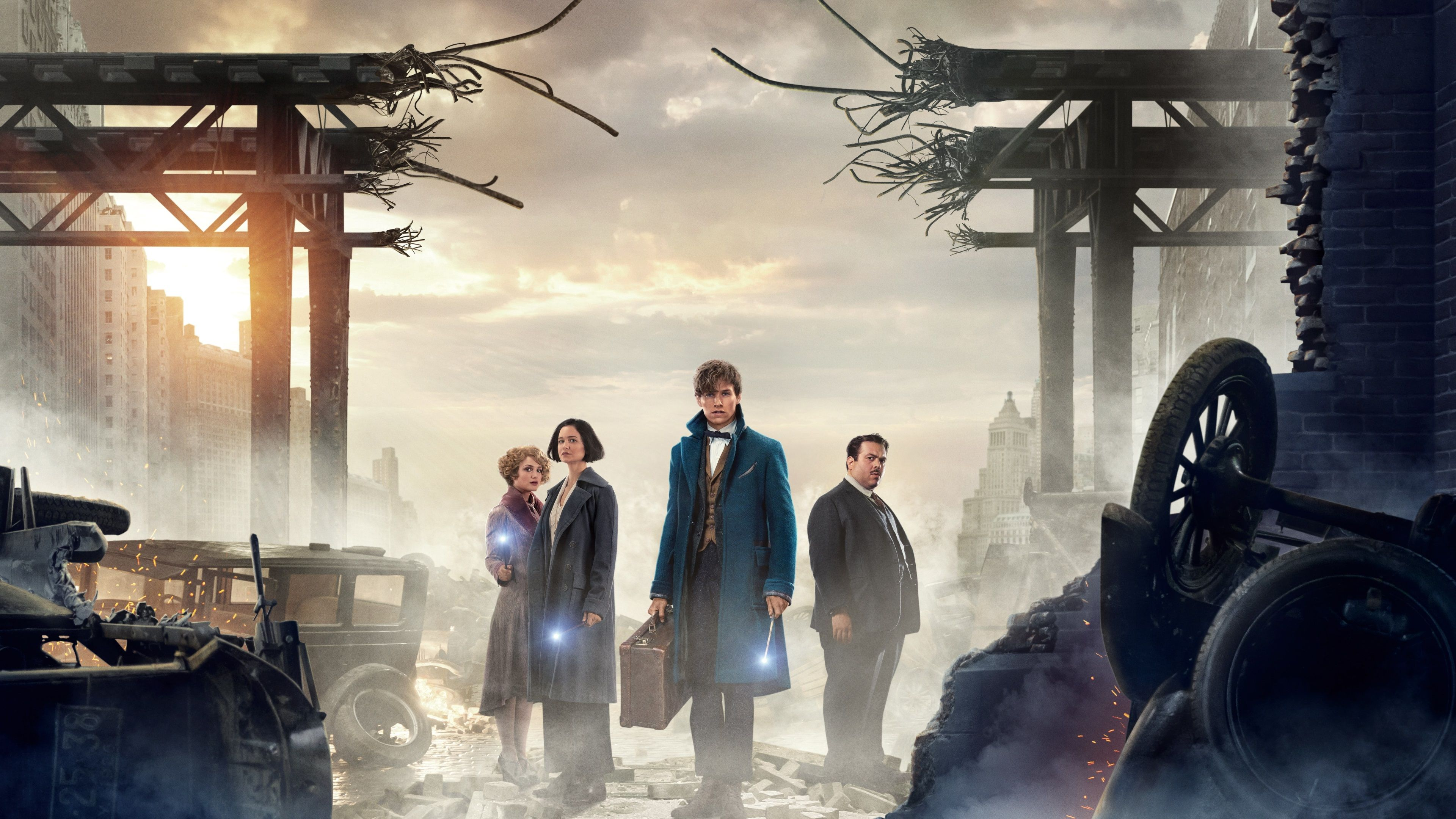3840x2160 Fantastic Beasts And Where To Find Them 4k Wallpaper For