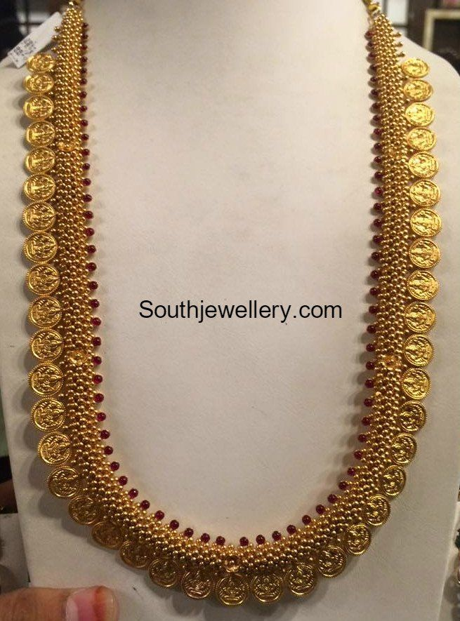 Lakshmi Kasulaperu Haram Uncut Chains In 2019 Jewelry