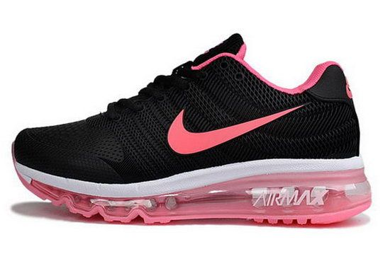 low priced aaf89 43440 Womens Nike Air Max 2017 Kpu Ii Black Pink Low Cost