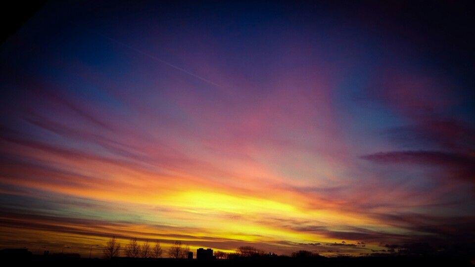 Sunset at dirksland