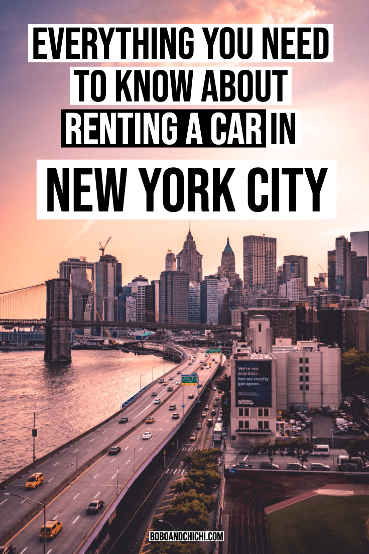 Everything You Need To Know About Renting A Car In Nyc New York City Travel Weekend Getaway Trips Travel