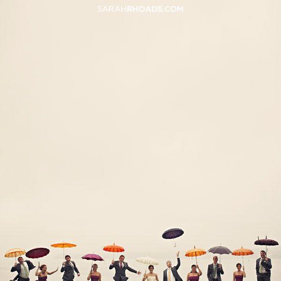 happy umbrellas