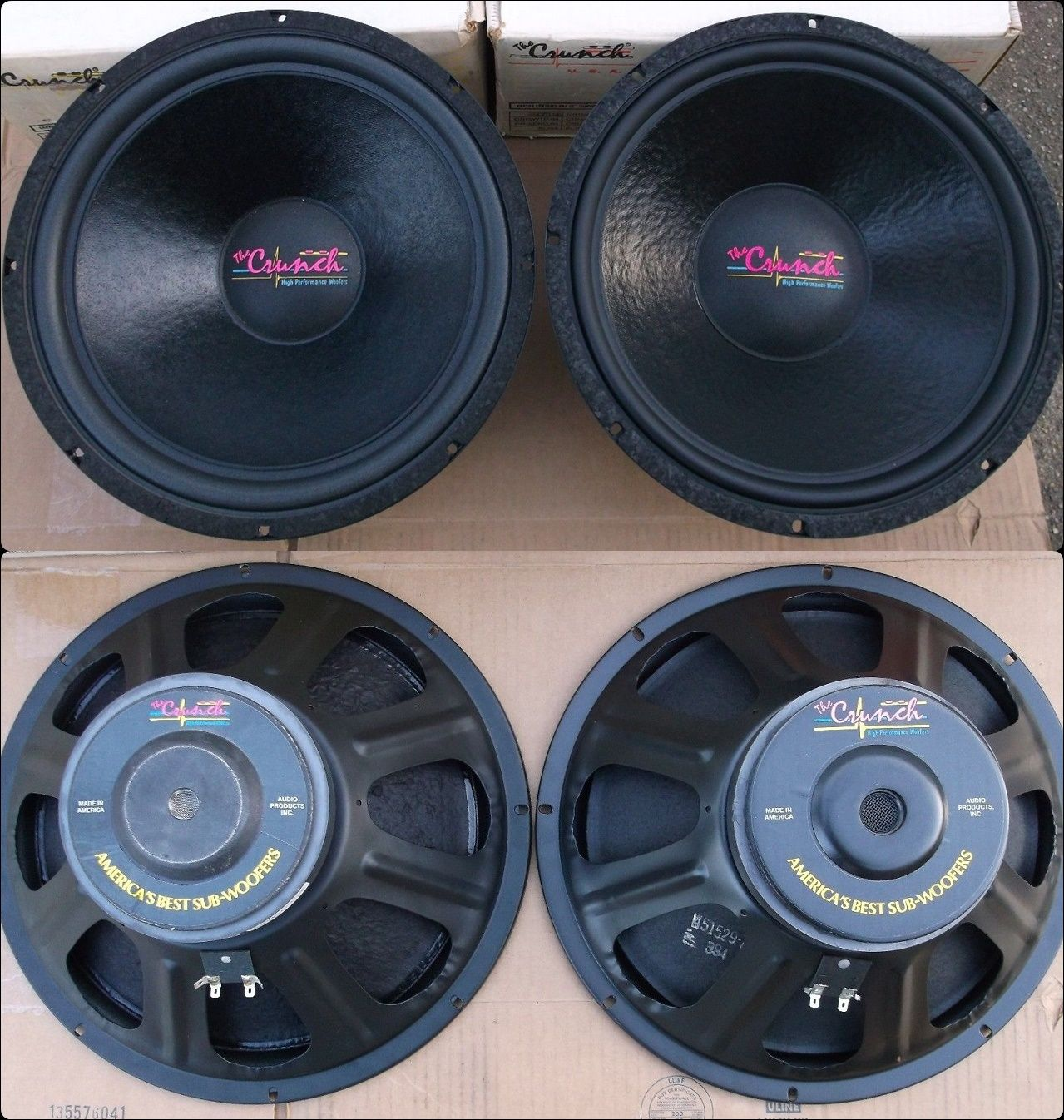The Crunch Cr154 15 Inch Subwoofer Car Audio Pinterest Car