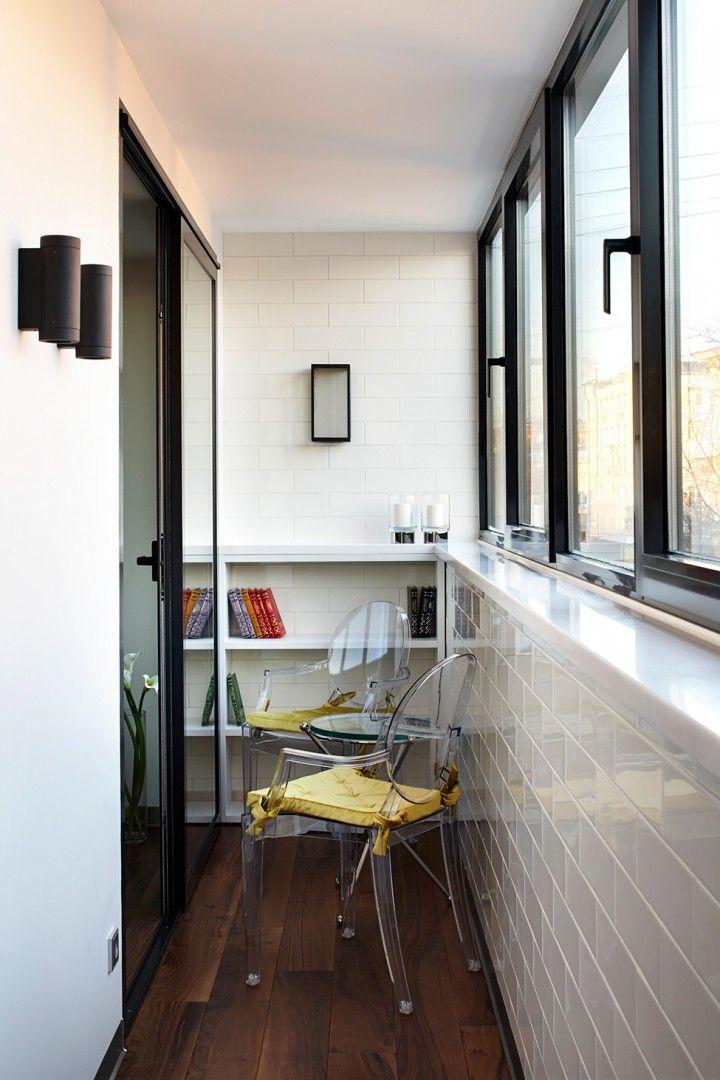Минималистичное оформление балкона, фото 15 - Балконы