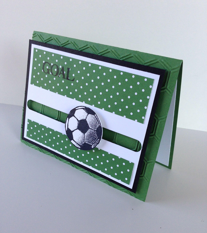 Днем рождения, открытка мужская футбол
