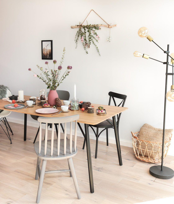 Herbstliche Tischdeko Mit nur 5 Handgriffen zur perfekten