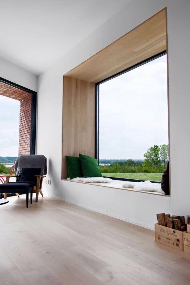 L 39 immagine pu contenere salotto tabella e spazio al chiuso id daybed casas bonitas - Finestra a bovindo ...