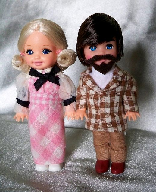 "<0> OOAK Kelly and Tommy as ""Quick Curl Barbie"" and ""Mod Hair Ken"" by Matthew Sutton by Matthew Sutton (shooby32), via Flickr"