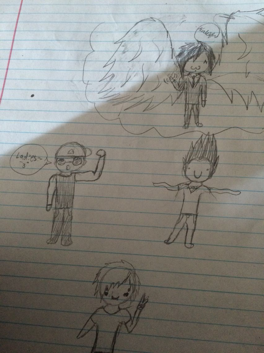 #avengedsevenfold #drawings  My friend thought Jimmy was syn (I only sent a pic of the drawing of Jimmy) -.-