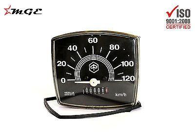 Vespa Speedometer Contachilometri Round 80 KM//H Ø=48MM V50 50 N 90