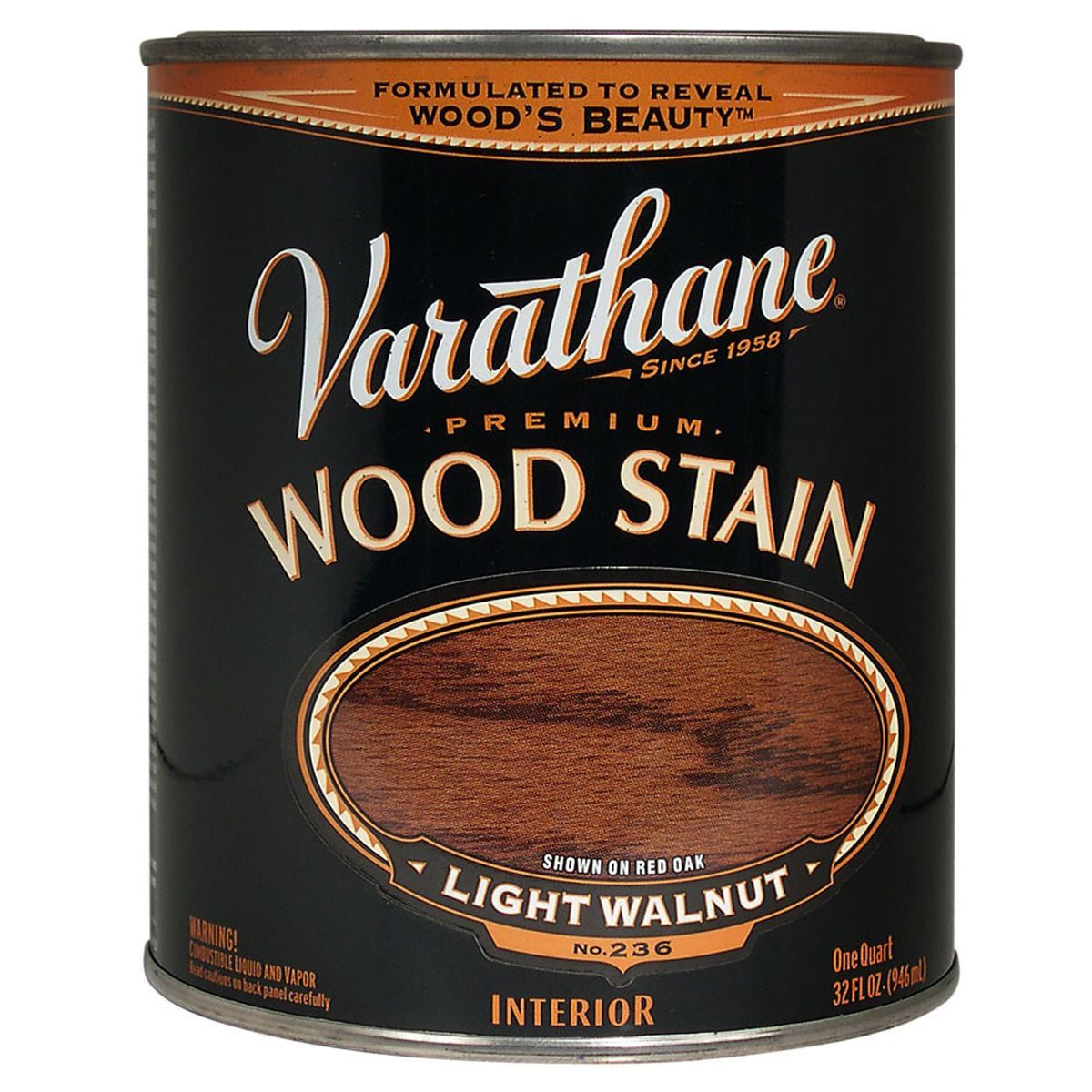 Minwax gel stain colors home depot wood stains color chart car tuning - Varathane 211719h 1 Quart Light Walnut Varathane Premium Wood Stain By Varathane Wood Stainstainsminwaxinto