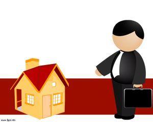 real estate powerpoint template ppt template paris pinterest