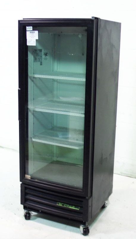 Used True Commercial Single Glass Door Merchandising Cooler 12cu Ft Gdm 12 L Door Merchandising Cooler G Locker Storage Restaurant Equipment Glass Door