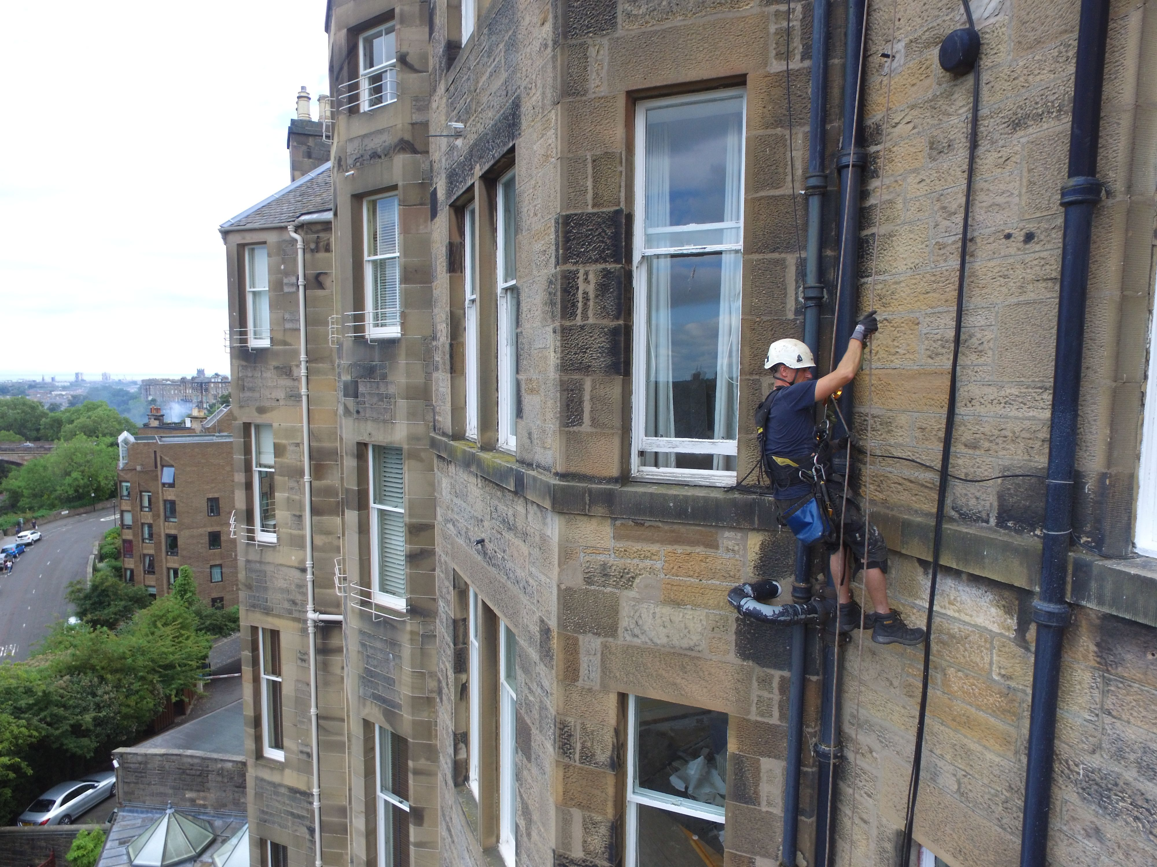 Pin By Allyn Scotland On Rope Access Edinburgh Roof Repair Building Maintenance Roofing Contractors