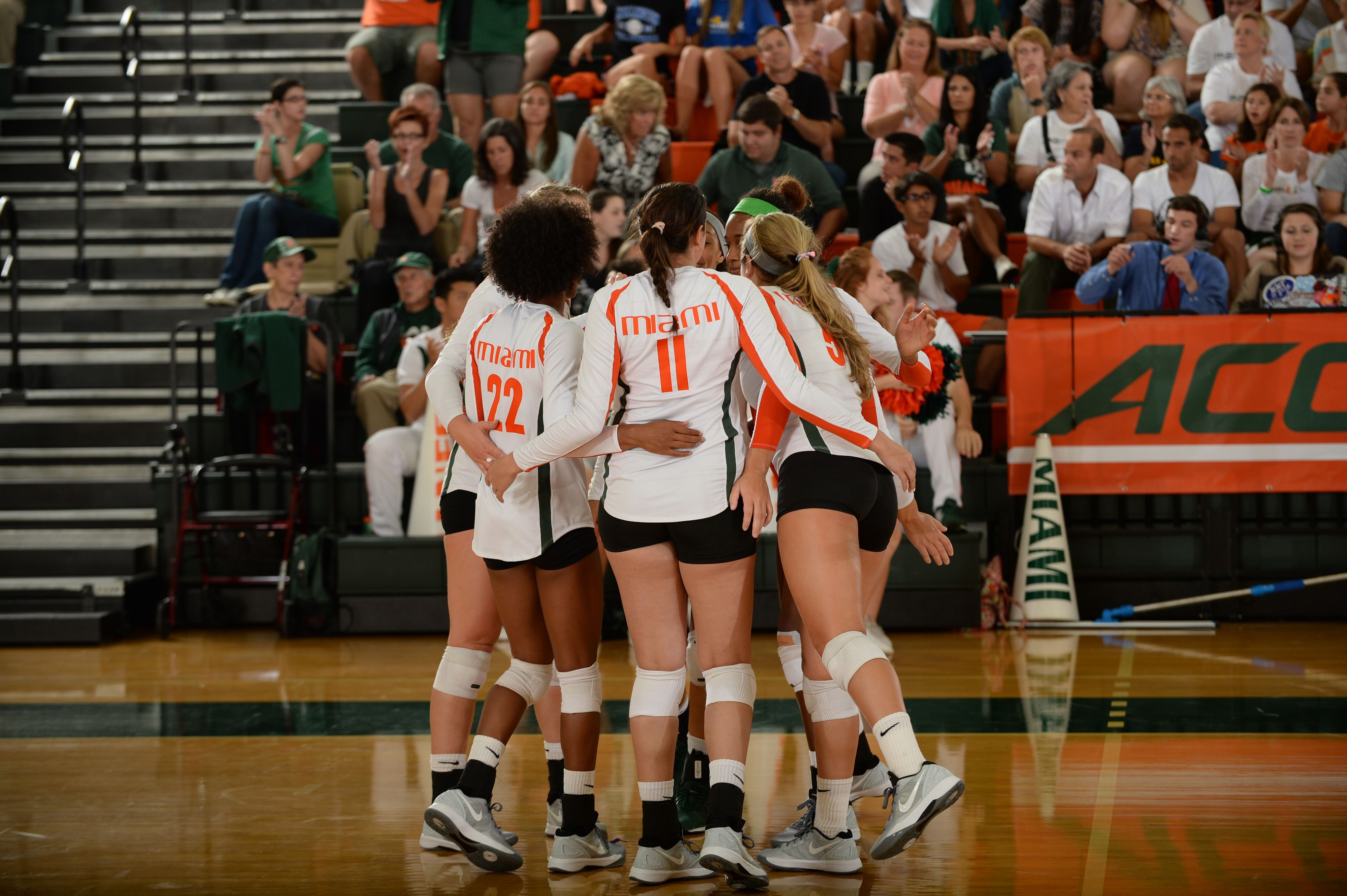 The James L Knight Complex Home Of Hurricanes Volleyball Athlete Sports Jersey Volleyball