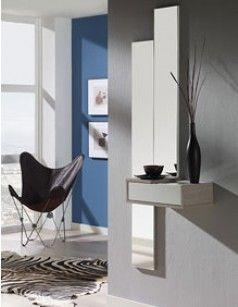 Meuble D Entree Avec Miroir Contemporain Titien Meuble Entree Meuble Entree Design Entree Moderne