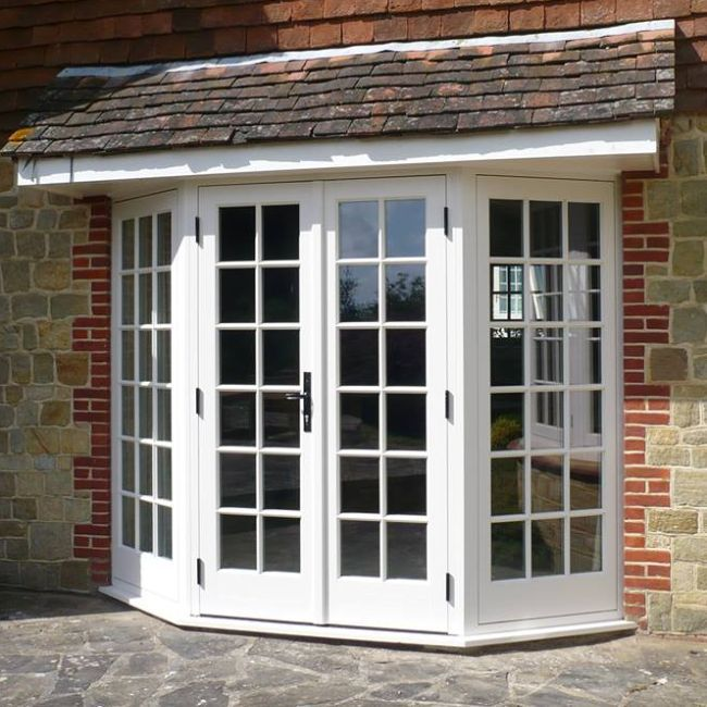 bay french doors - Google Search - Vented Patio Doors--because What's The Point Of A Window That Won
