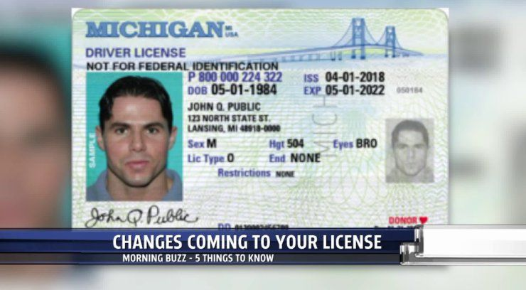 Lansing Mich  The New Michigan Real Id DriverS License Or Id