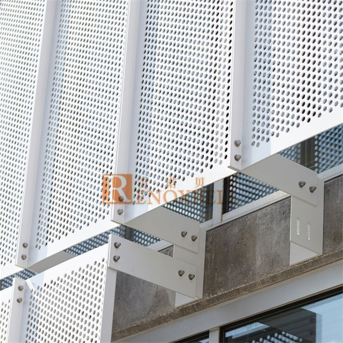 Perforated Aluminum Veneer For Aluminum Wall Cladding Decoration