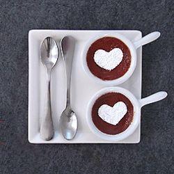 Caramel Pot de Creme: A simple 3 ingredient Valentine's Dessert