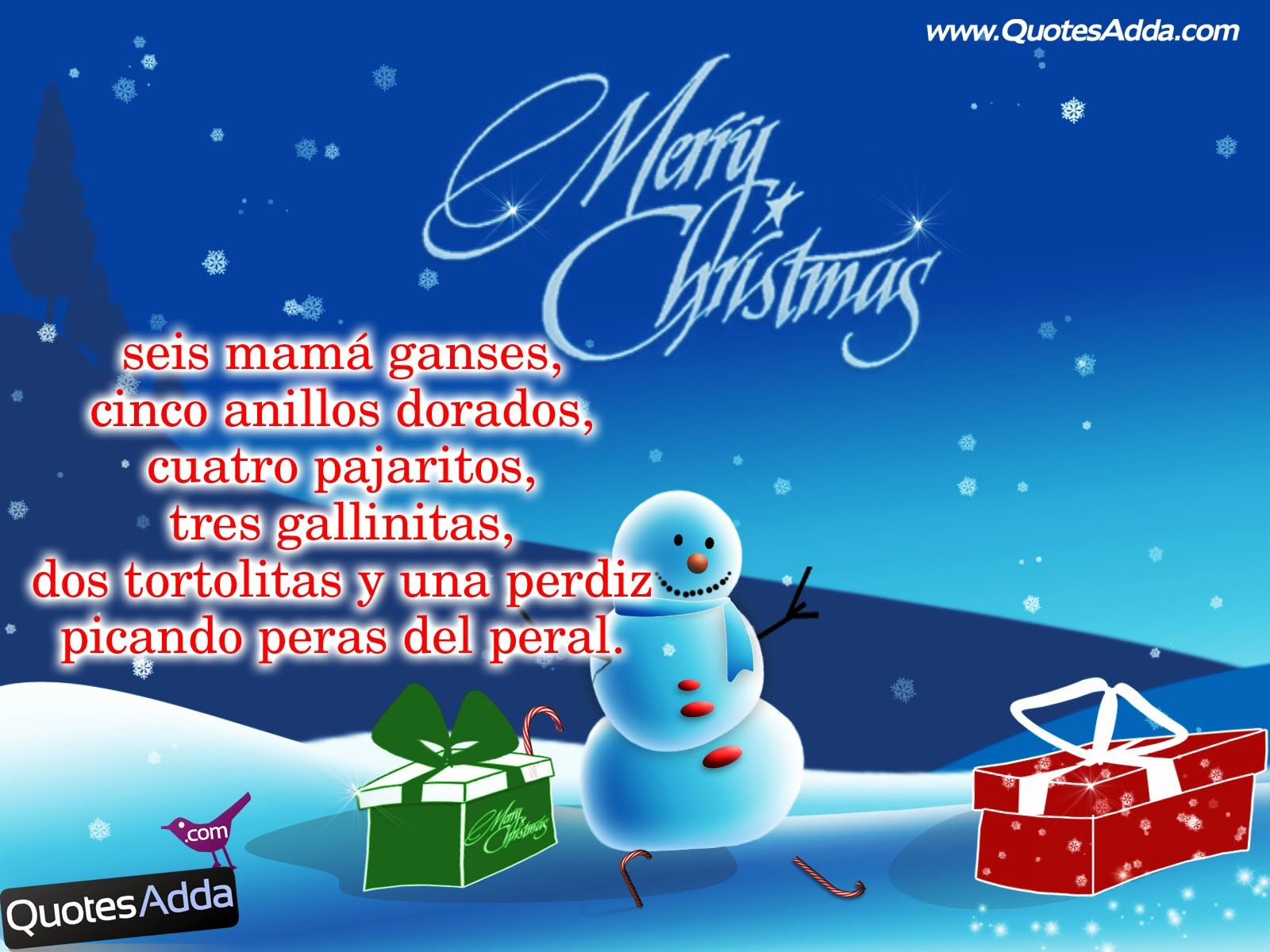 Christmas quotes in spanish quotesadda telugu quotes on the event of joys and happiness everyone is looking for queries like cool merry christmas 2015 images attractive merry christmas 2015 wallpapers kristyandbryce Images