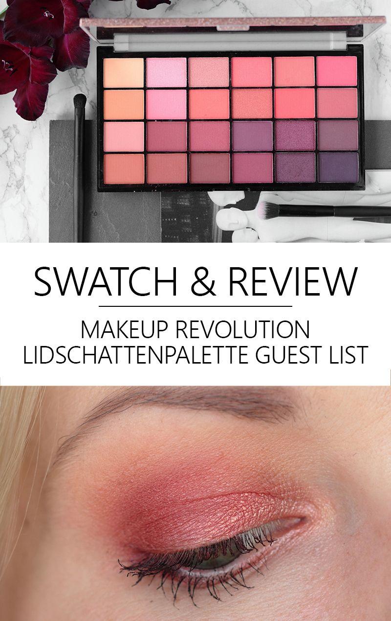 MakeUp Revolution Lidschattenpalette Guest List