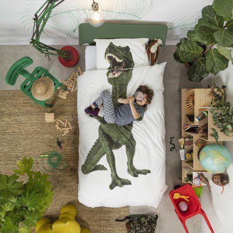 Dinosaurus Rex dekbedovertrek