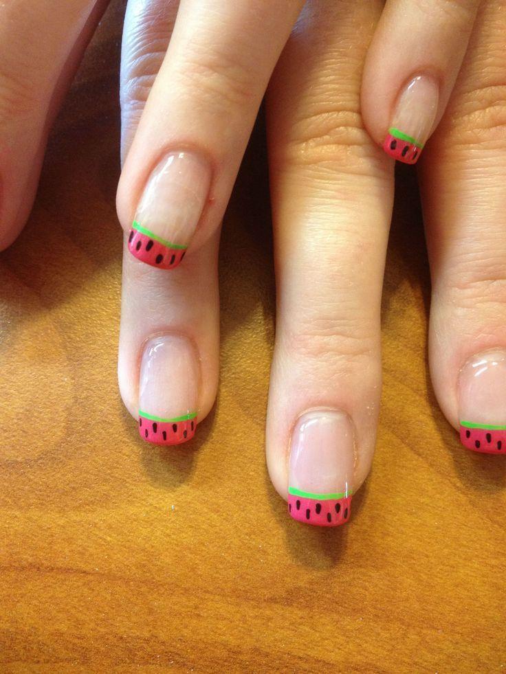 #Cute #hot Summer Nails #Idea #Nagels #Zomer #Weer