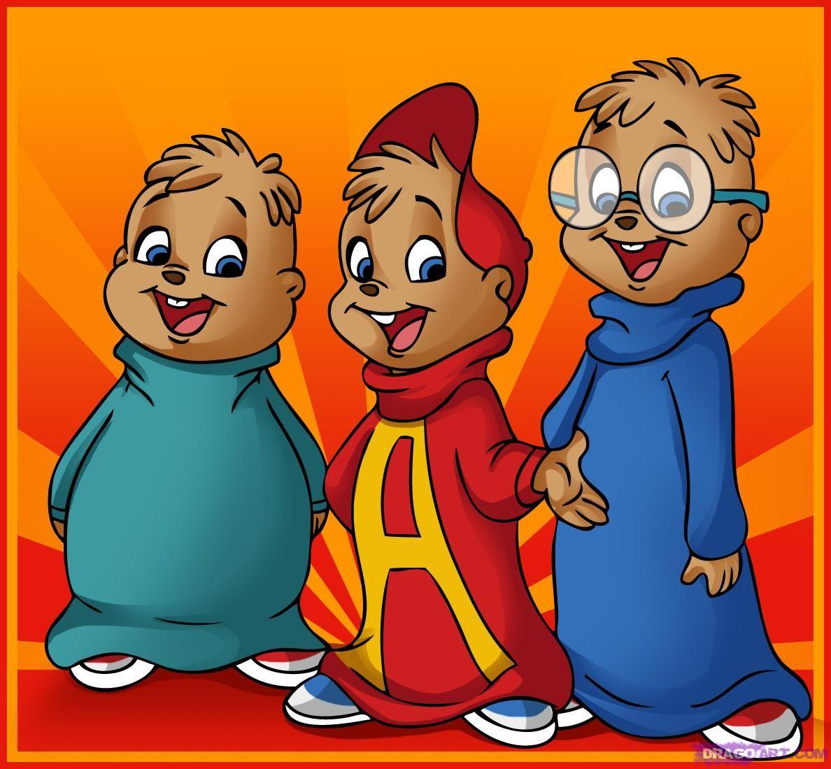 alvin and the chipmunks simon alvin and theodore cartoon