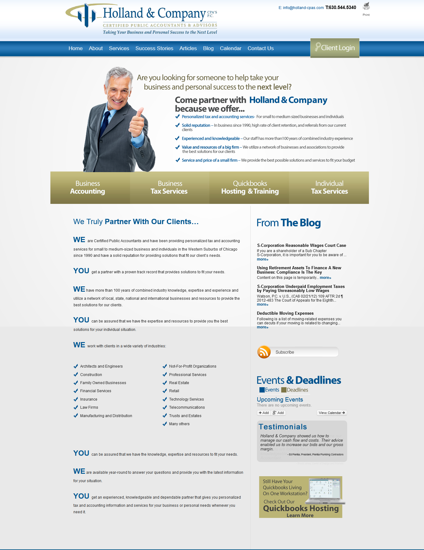 Brand New Just Went Live Website For An Accounting Firm In Naperville Accounting Firms Web Design Company Tax Services