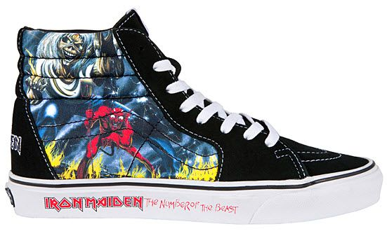 823b20f69d Vans and Iron Maiden partner for Iron Maiden shoes