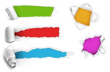 free-torn-paper-holes-PSD Photoshop Pinterest Photoshop - fresh invitation template vector