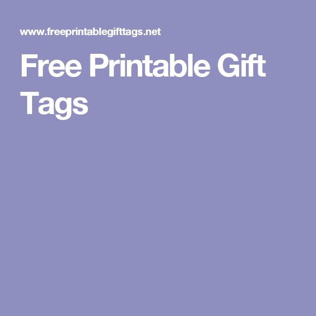 Free printable gift tags m y o pinterest free printable gift free printable gift tags negle Choice Image