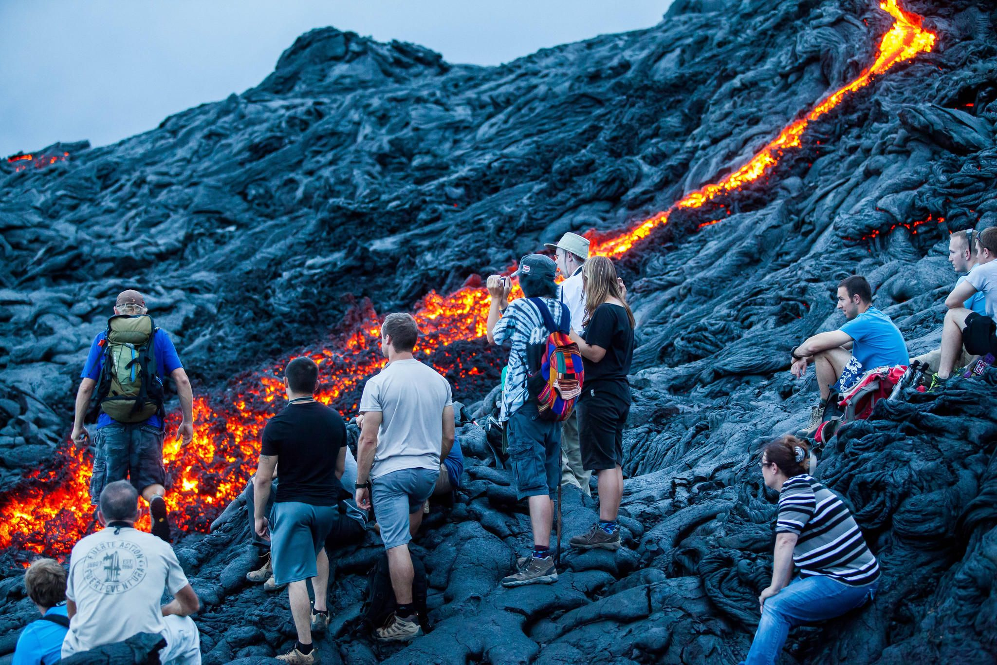 Lava Hike Tours in Hawaiian Big Island by Kohala Tours