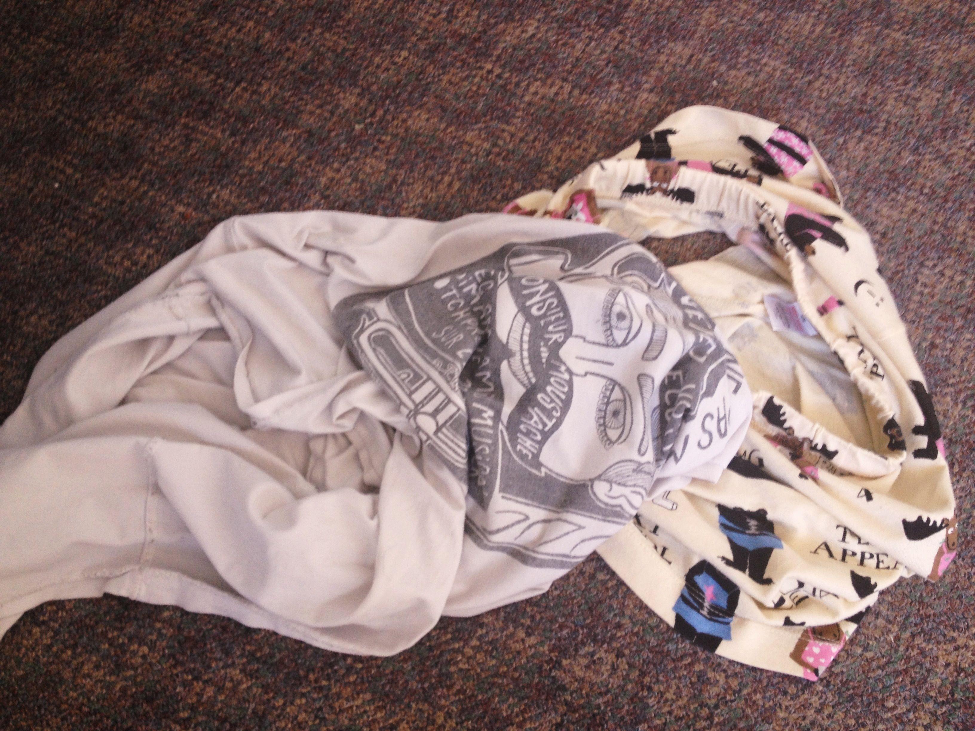 Summer 2013 his t-shirt and my shorts <3