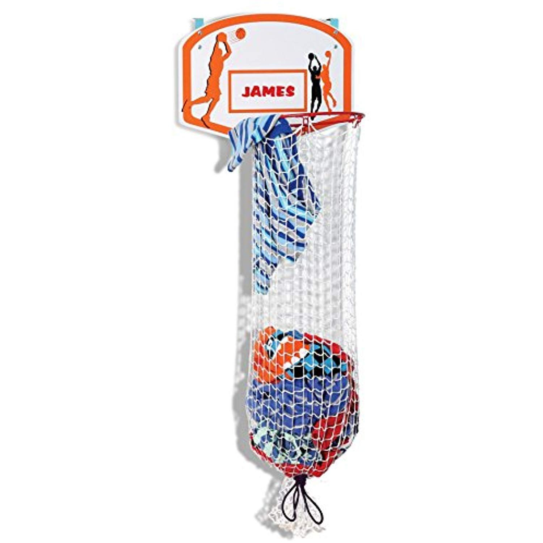 Kleeger Kids Basketball Clothes Hamper 2 In 1 Basketball Hoop And