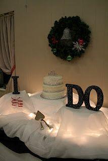 Terrell & Jen's Wedding Cake