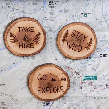 Diy Burned Wooden Coasters Create Your Own Message On These Coasters For A Person Feel Wood Burning Crafts Wood Burning Art Wood Burning Patterns