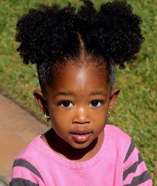 This Black Magazine Features A Section On Hair Styles For Black Girls Similar To Afro Hairstyles For Kids Natural Hairstyles For Kids Cool Hairstyles For Girls