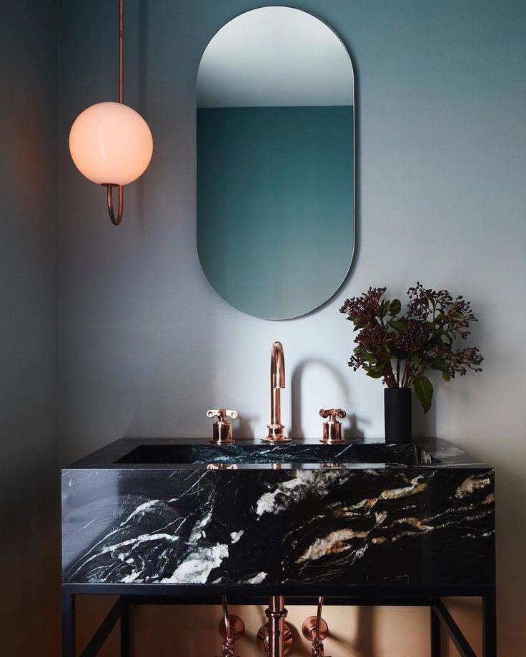 Beautiful marble sink