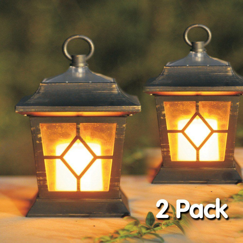 Solar Garden Light Lantern: Outdoor Solar Christmas Lanterns