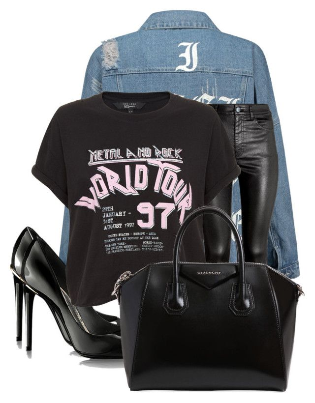 """""""Untitled #250"""" by cremebruleelatte ❤ liked on Polyvore featuring H&M and Givenchy"""