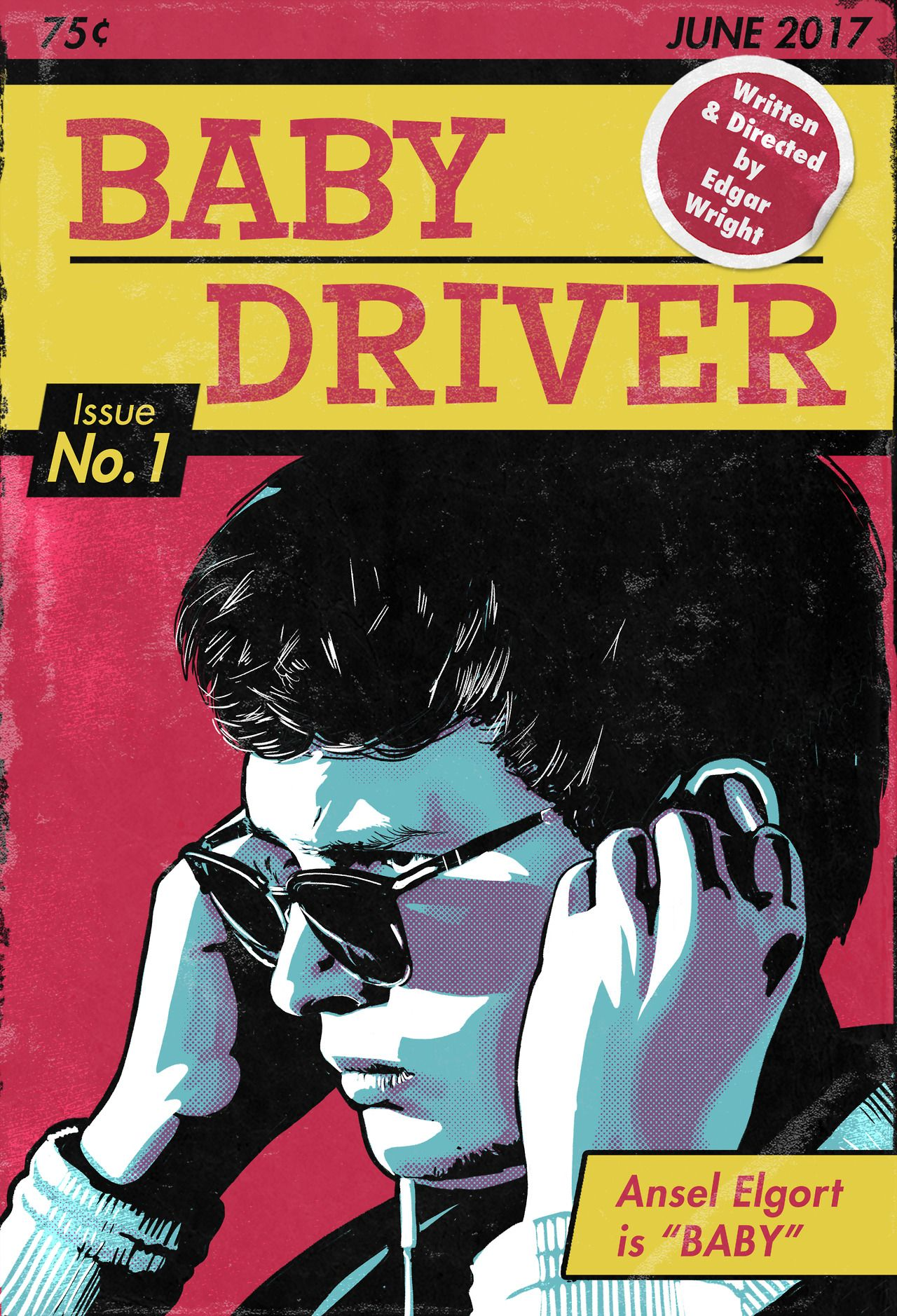 Baby Driver Poster Series Created by Mark Levy (With