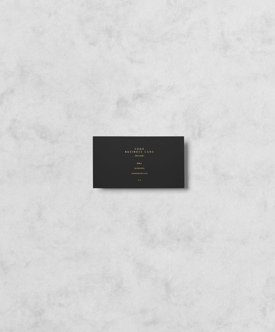 Gold foil business cards Colorplan Ebony GF Smith | BRANDING ...