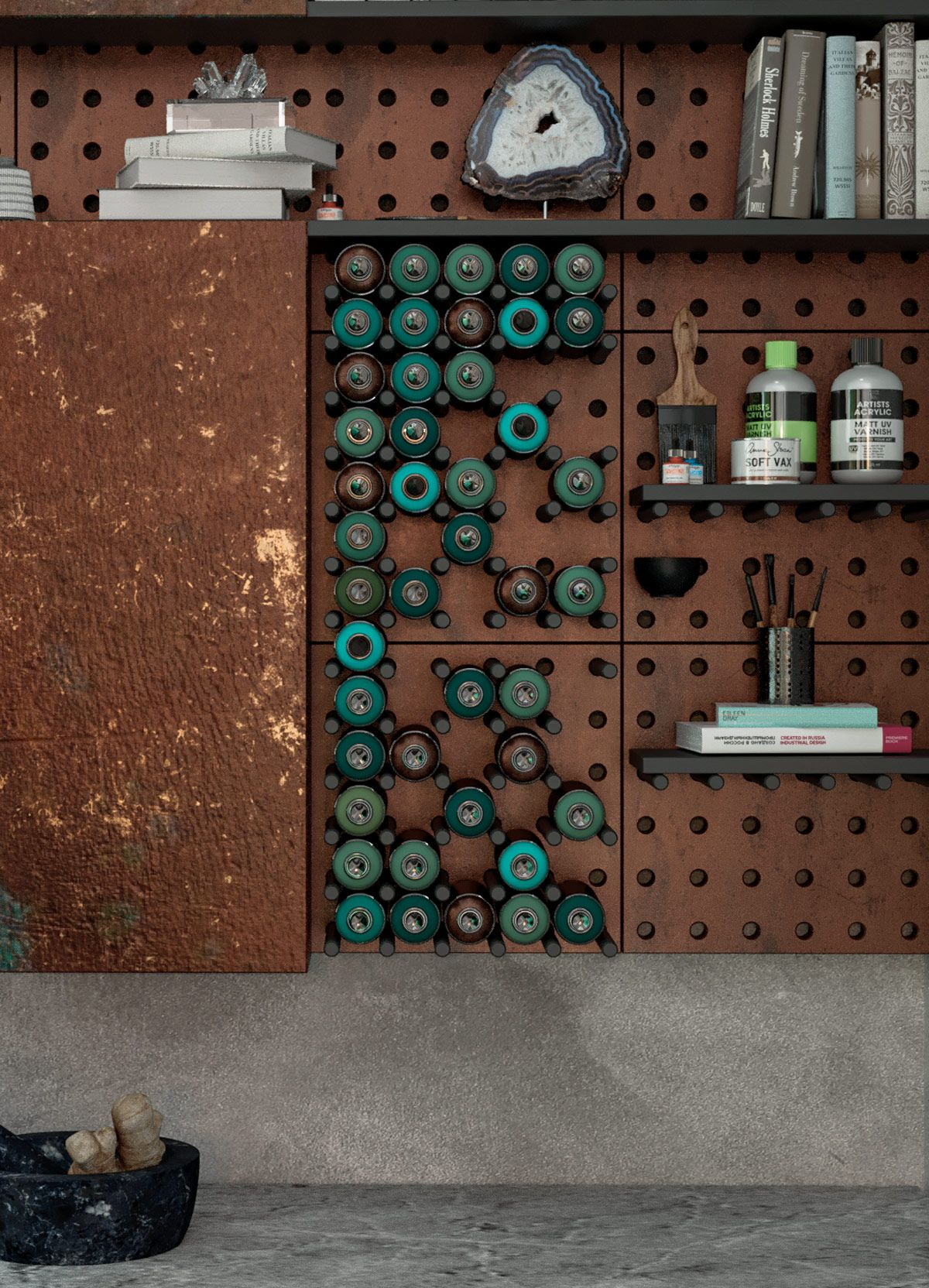 Creative Use Of Copper In Interior Design Wall Building Facade