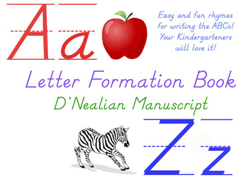 Letter formation rhyme book dnealian abc poems poem letter formation poems dnealian handwriting spiritdancerdesigns Images